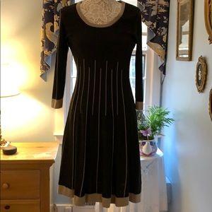 9 West Cotton Sweater Dress